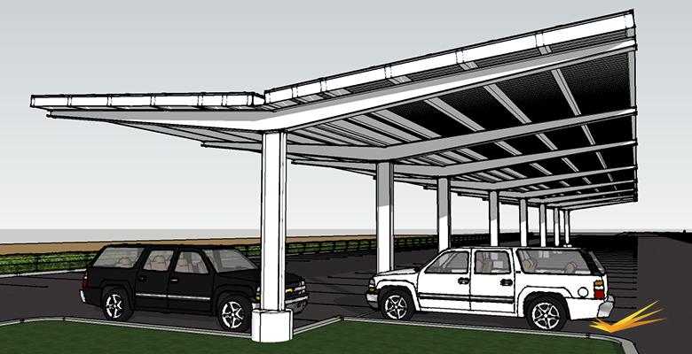 Solar Carports Llc Carport Structures
